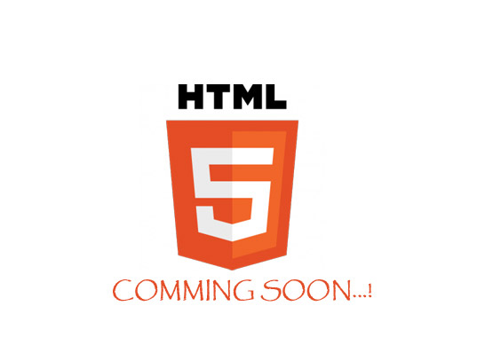 HTML5 coming